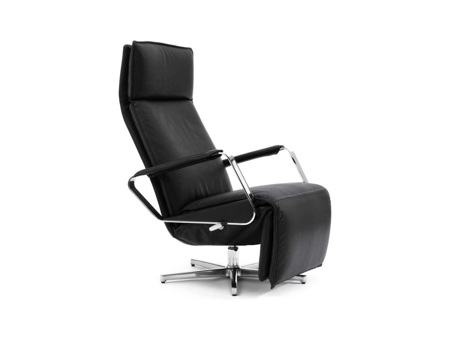 Durlet - largo relax - black lounge chair