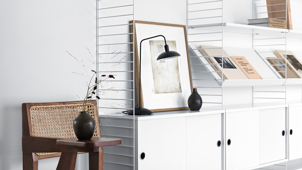 String Furniture | Scandinavian shelving system